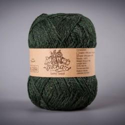 Semi-wool 407 dark green