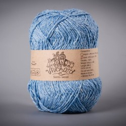 Semi-wool 408 blue