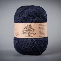 Semi-wool 410 dark blue