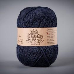 Semi-wool 410 dark blue