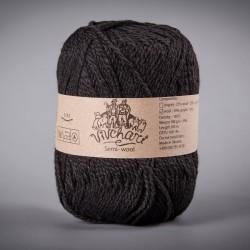 Semi-wool 412 black