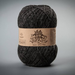 Semi-wool PRO 602 dark grey marengo