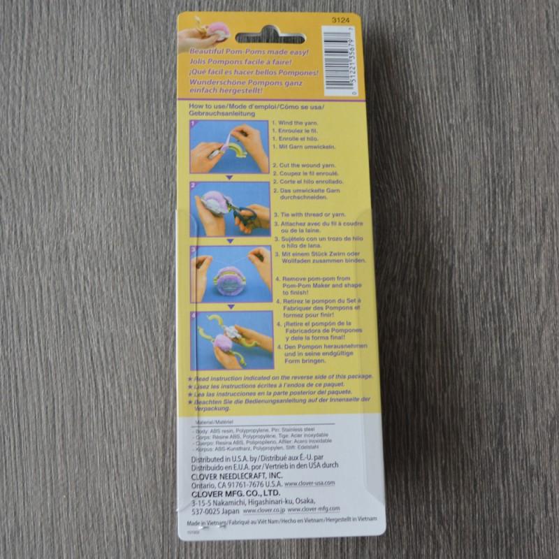 Clover Pom Pom Maker Small Azuleta