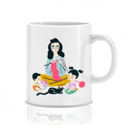 "Cup ""Sofia with children"""