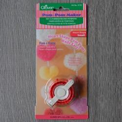 Приспособления для изготовления помпонов в форме сердца Clover (маленькое)