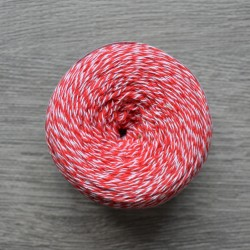 Yaroslav Cotton 14/2 red melange