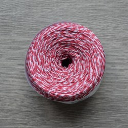 Yaroslav Cotton 14/2 dark red melange