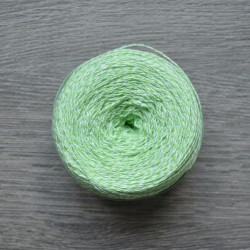 Yaroslav Cotton 14/2 light green melange