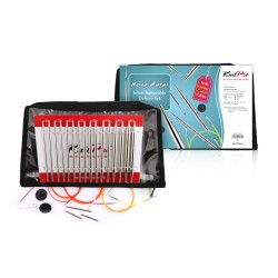 KnitPro Nova Metal Interchangeable Set Deluxe