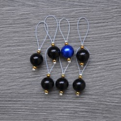 KnitPro ZOONI Stitch Markers Midnight Beauty