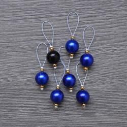 KnitPro ZOONI Stitch Markers Bluebell