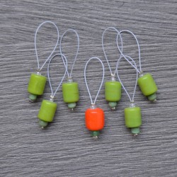 KnitPro ZOONI Stitch Markers Holly