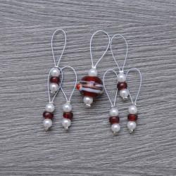 KnitPro ZOONI Stitch Markers Amaryllis