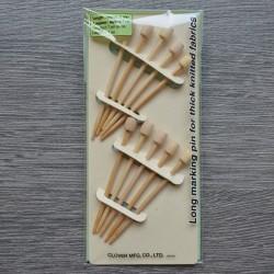 Булавки бамбуковые Clover