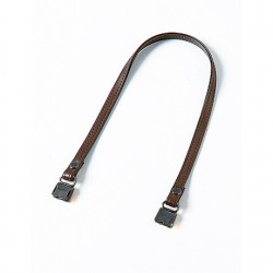 Hamanaka leather bag handle 41 cm (brown/antique)