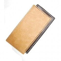 Hamanaka faux-leather bag sole (beige)
