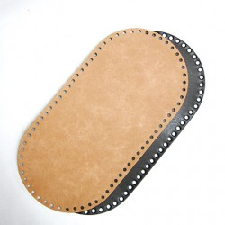 Hamanaka leather bag sole (beige)