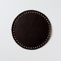 Hamanaka faux-leather bag sole (small/black)