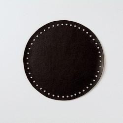 Кожаное дно для сумок Hamanaka (маленькое/черное)