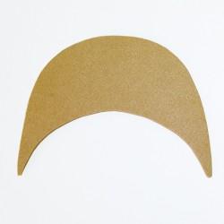 Hamanaka felt hat brim (beige)