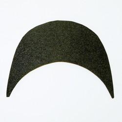 Hamanaka felt hat brim (black)