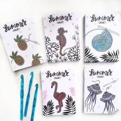 "Set of post cards ""Summer crochet"""