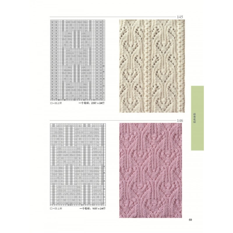 250 Knitting Patterns Book Azuleta