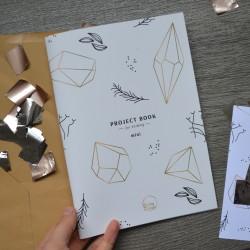 Knitting project book mini (UA)