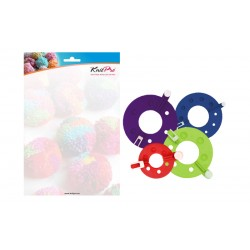 Rejoice Pom Pom Makers KnitPro