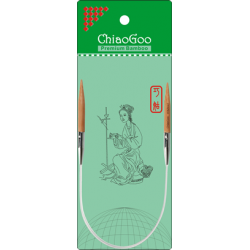 "ChiaoGoo Bamboo Circulars - 12"" (30 cm), Patina"