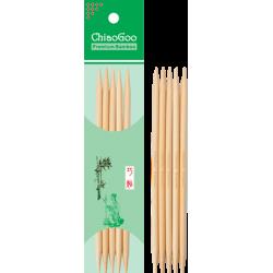 Спицы носочные бамбуковые ChiaoGoo 13 см, натуральный цвет