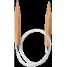 Спицы круговые деревянные ChiaoGoo (60 см), патина