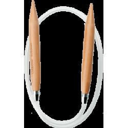 Спицы круговые деревянные ChiaoGoo (80 см), патина