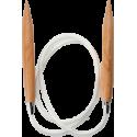 "ChiaoGoo Wood Circulars - 40"" (100 cm), Patina"
