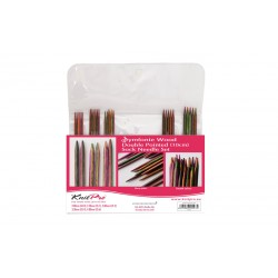 Набор носочных спиц KnitPro Symfonie Wood (10 см)