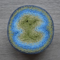 Scheepjes Woolly Whirl - 473 Kiwi Drizzle