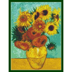 "Simy's Studio Embroidery Kit - Van Gogh ""Sunflowers"""