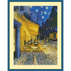 "Simy's Studio Embroidery Kit - Van Gogh ""Café Terrace at Night"""
