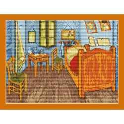 "Simy's Studio Embroidery Kit - Van Gogh ""Bedroom in Arles"""