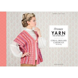 Yarn The After Party №16 Coral Dreams Cardigan
