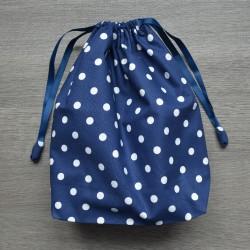 Project bag Blue Polkadot
