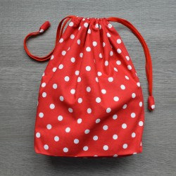Project bag Red Polkadot
