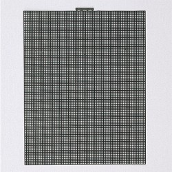 Hamanaka Bag Mesh, 30 x 38 cm, black