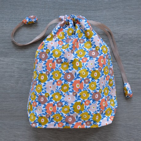 Project bag Mustard Flowers