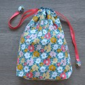 Project bag Flowers