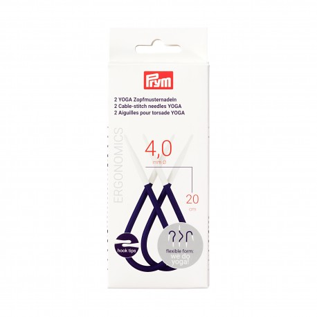 Prym cable-stitch needles YOGA, 4.0 mm