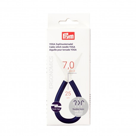 Prym cable-stitch needle YOGA, 7.0 mm