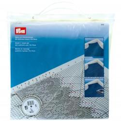 Prym Stretch 'n' steam pad with cm grid, 70x70 cm