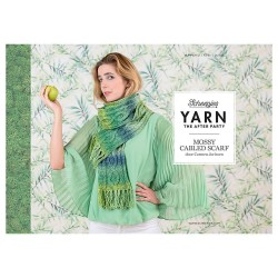 Yarn The After Party №12 Mossy Cabled Scarf