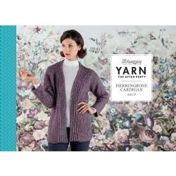 Yarn The After Party №29 Herringbone Cardigan